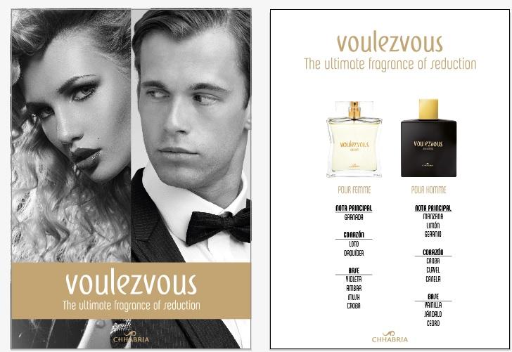 Notas Olfativas presentación Voulezvous